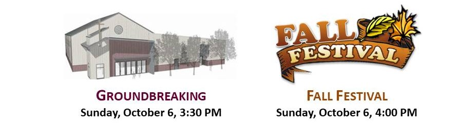Groundbreaking and Fall Festival 2019