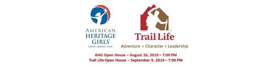 Trail Life USA & AHG Open House